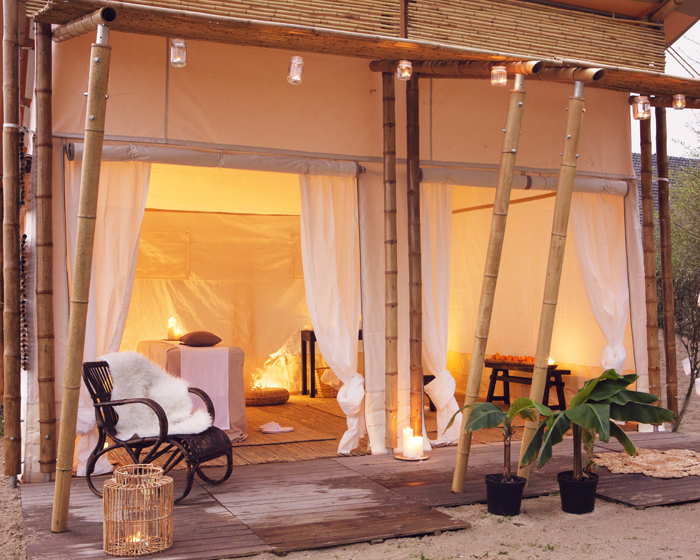 Spa Lodge is designed to incorporate nature into spa treatments