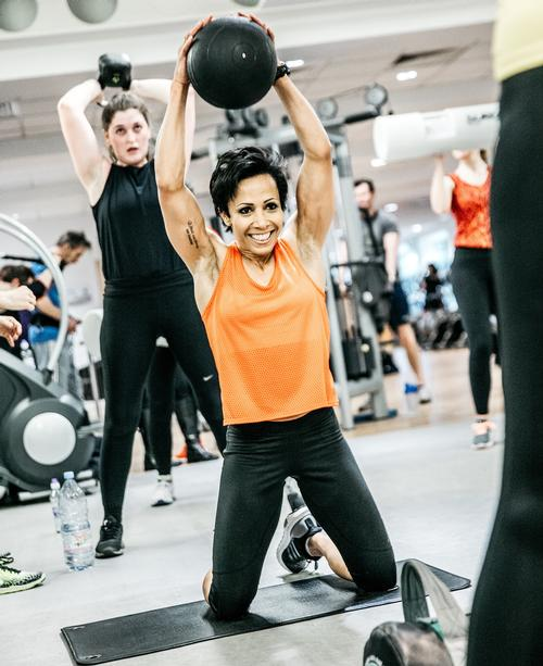 Dame Kelly Holmes to front new gym floor training programmes