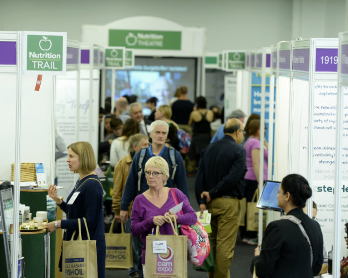 camexpo, UK's biggest natural health and wellbeing show, returns to London