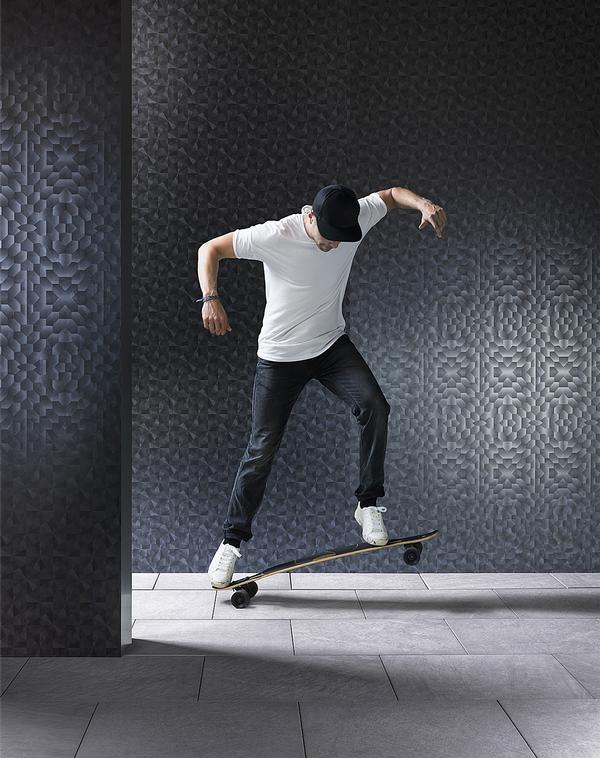 1. Marcel Wanders teamed up with Pure + Freeform to create a collection of metal exterior finishes