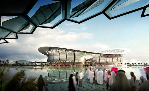 Foster + Partners' Lusail Stadium, the centrepiece of the 2022 FIFA World Cup / Foster + Partners