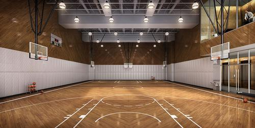 The club will feature a full-size basketball court / Moinian Group