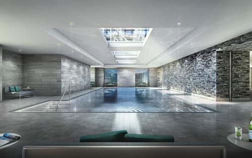 The facility will boast both indoor and outdoor pools / Moinian Group