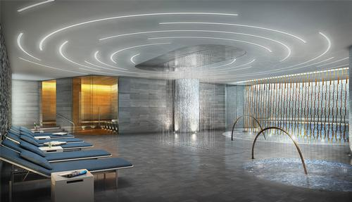 Life Time Fitness collaborates with David Rockwell and Thomas Balsley for luxury New York fitness club