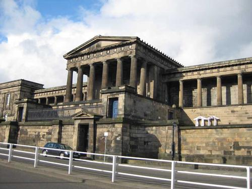 Many plans for Edinburgh's Royal High School have fallen by the wayside, now the site is set to become a luxury hotel / edinburgharchitecture