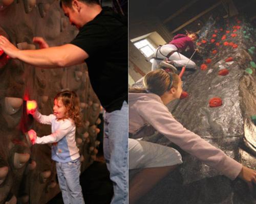 Innovative Leisure's range of climbing walls on show at VAE