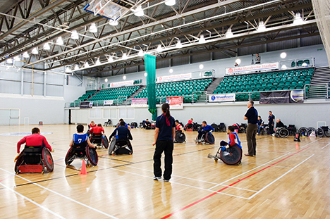 Leisure Connection: Wheelchair sports for disabled and able-bodied