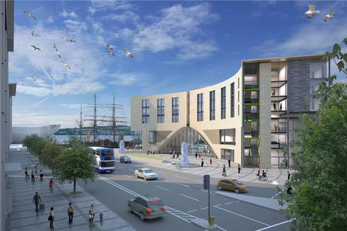 The ongoing 30-year development is scheduled to be completed in 2028 / Dundee Council