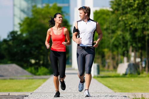 The government is making concerted efforts to promote running to work