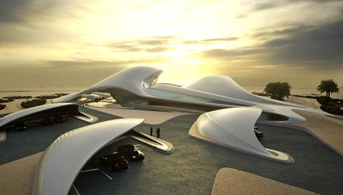 Zaha's Bee'ah Headquarters: the first building in the UAE to be fully powered by renewable energy / MIR