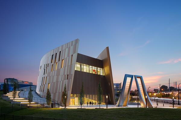 The Perkins+Will-designed National Center for Civil Rights opened 