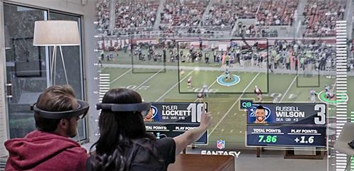 Microsoft adapts augmented reality for sports market