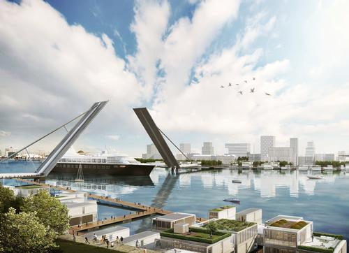 Sir Terry Farrell proposes six new bridges for London's River Thames
