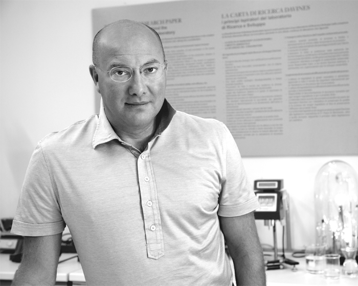 Dr. Davide Bollati, pharmacist and founder of the brand