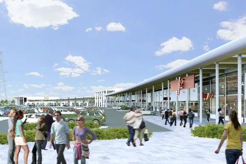 The stadium will form part of a £135m mixed-use project / Later Property Group