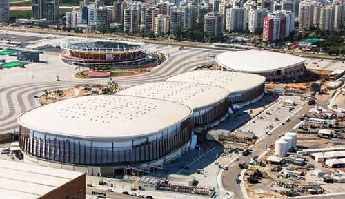 The 16-capacity arena is the largest venue in the Barra Park / Rio 2016
