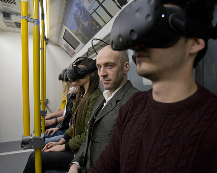 VDC assists VR upgrade on Derren Brown's Ghost Train