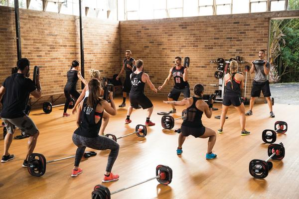 The Les Mills GRIT™ classes are usually sold out
