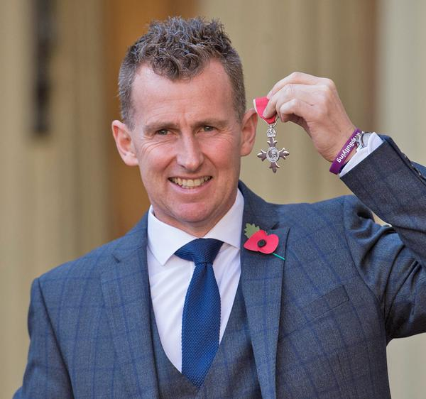 Nigel Owens received an MBE in 2016 for his services to sport / © Stefan Rousseau/PA Archive/PA Images