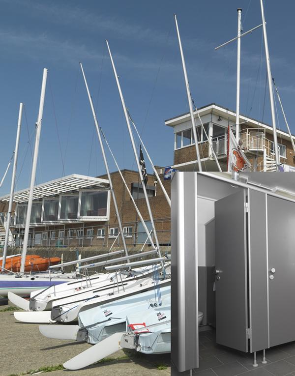 Kemmlit's 'Variocell' cubicle system has been installed at Datchet Water Sailing Club