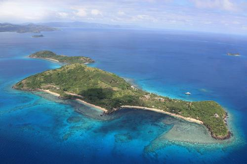 Developer Lang Walker has also just splashed out on a new Twin Otter seaplane to ferry guests to the six-star 140-acre (57-hectare) resort / Kokomo Yaukuve Island Resort