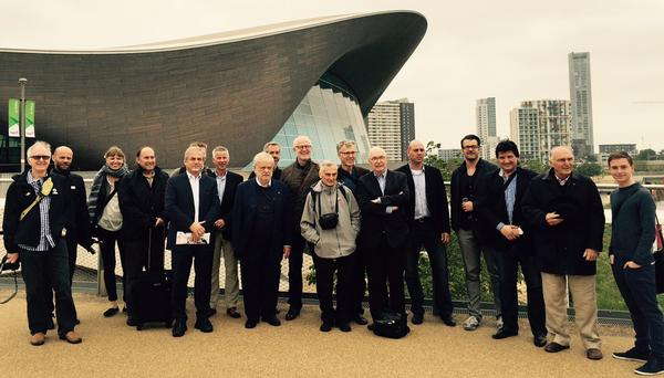 Members of UIA's Spor and Leisure Working Programme visiting the London Olympic Park