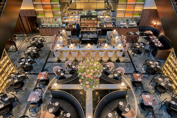 London's German Gymnasium by C&P won World's Best Overall Restaurant at the Bar & Restaurant Design Awards in October 2016