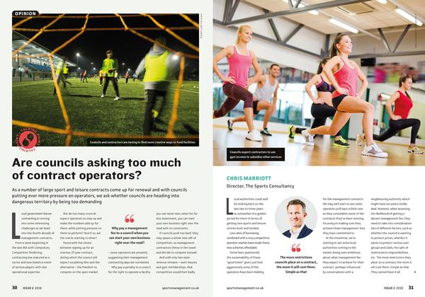 The article was in Sports Management Issue 2, 2018