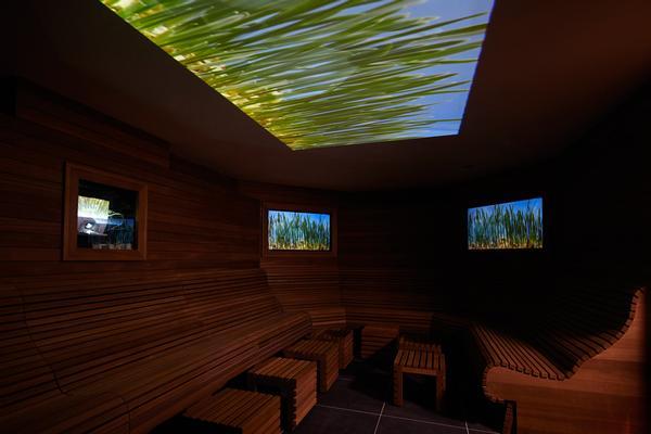 Aqua Sana's sensory room are world firsts
