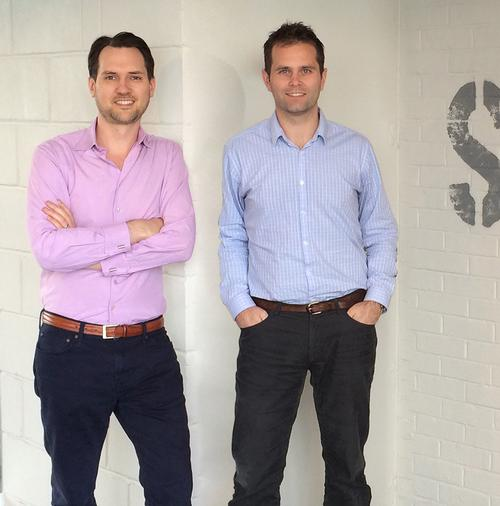 PayasUgym co-founders Jamie Ward (left) and Neil Harmsworth (right)