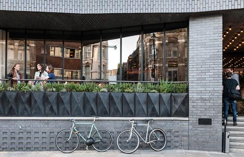 Ace Hotel, London, Entrance / Universal Design Studio
