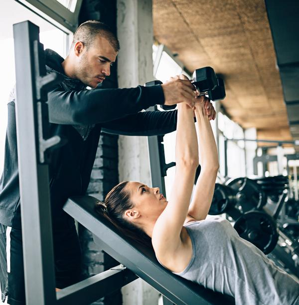 It's important for PTs to listen to their clients and adapt exercises / PHOTO: SHUTTERSTOCK.COM