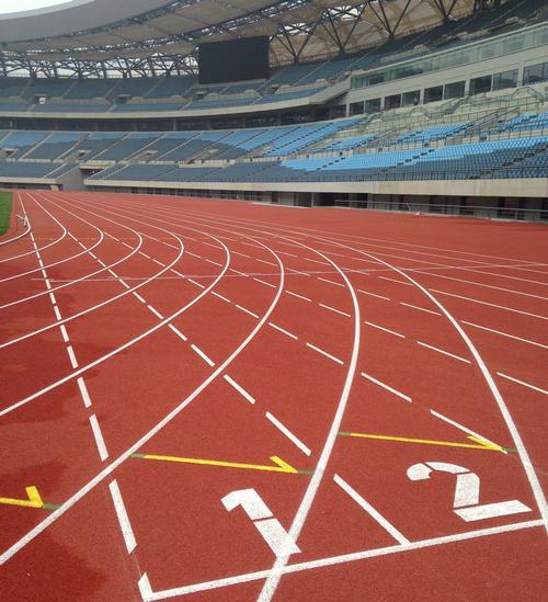 A Polytan surface at the Dalian stadium in China / Polytan