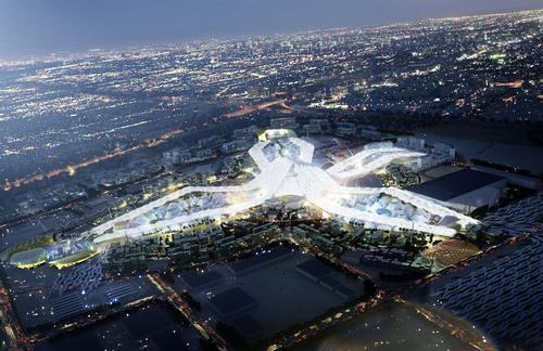 The Dubai World Expo 2020 will run from October 2020 to April 2021 / HOK