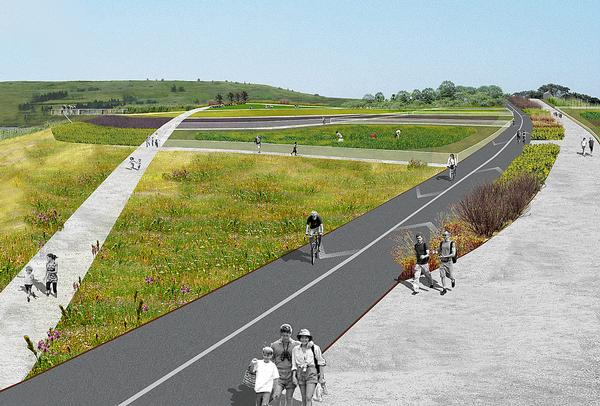 Freshkills Park was once the biggest  landfill site in the world