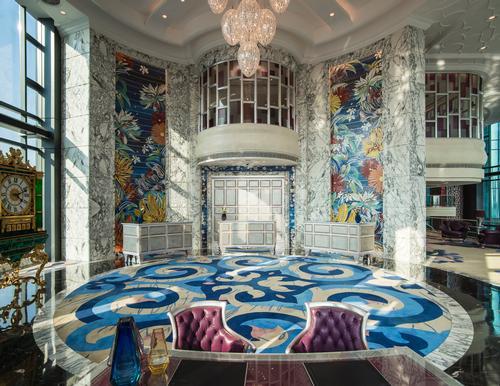 Designed by architect Kent Lui of Kent Lui Tactics, the hotel includes unique design elements / Reverie Saigon