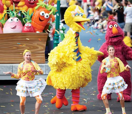 Monster attraction boosts Sesame Street park