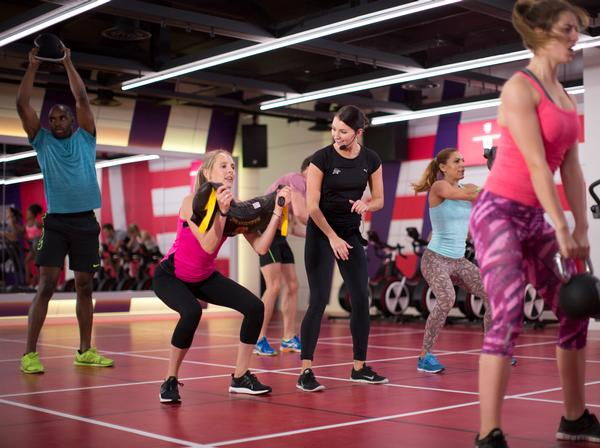 Results-driven classes like Grid and Heat are popular with women and men