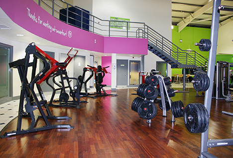 Concept Fitness provides a complete weights fit-out