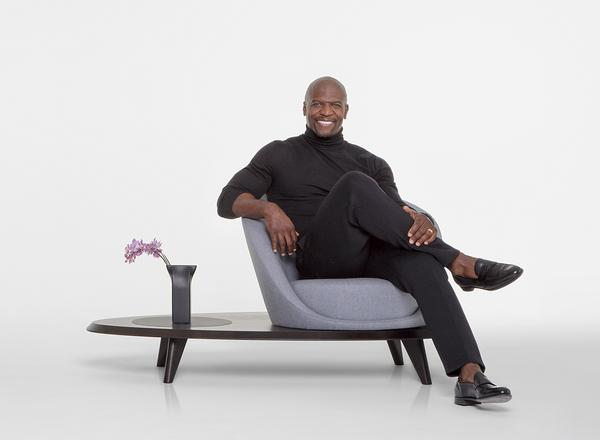 Terry Crews is an actor, a former NFL player and now a furniture designer