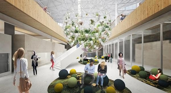 BIG's design for Google's Charleston East Campus aims to foster a sense of community