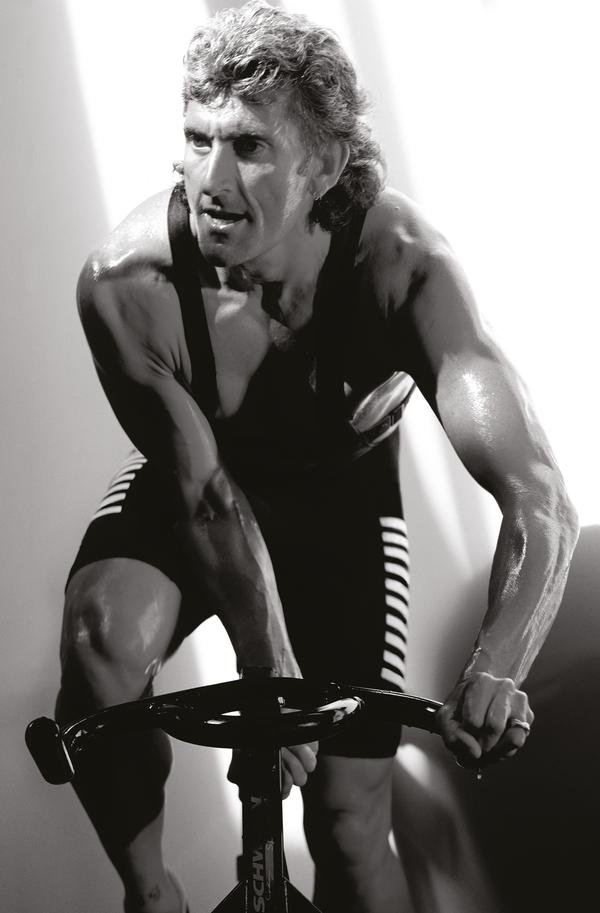 Indoor cycling legend Johnny G is working with Spirit Fitness