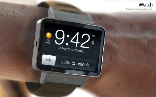 A mock-up of how the iWatch may look when it is finally released / ADR Studio