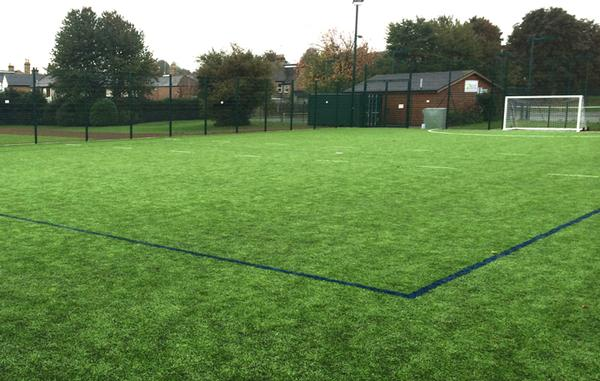 The new facility will provide the community with a seven-a-side pitch