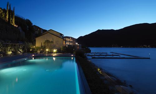 Filario Hotel & Residences sits by Lake Como in Lezzeno, Italy / Design Hotels