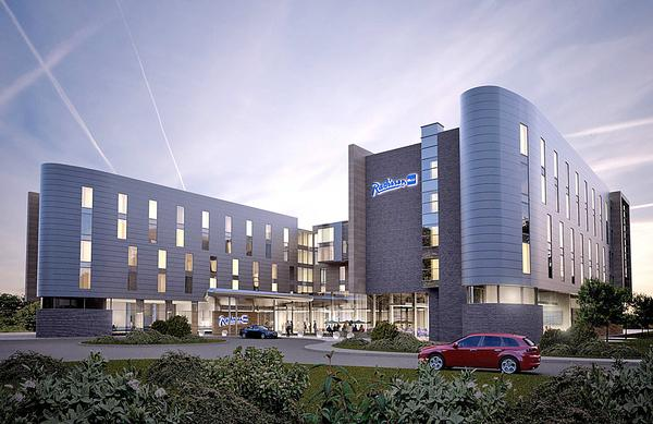 One of the best performing BREEAM hotels to date is the Radisson Blu East Midlands Airport in Derby, UK