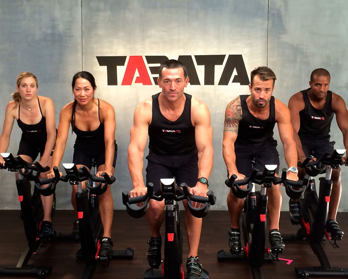 Tabata workout aims to improve both aerobic and anaerobic fitness