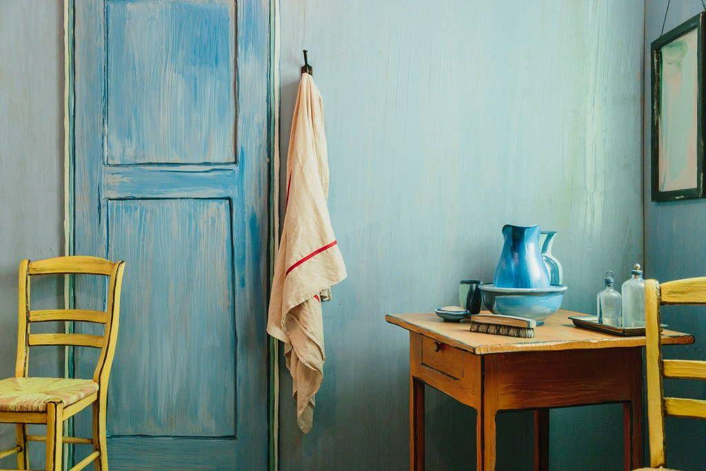 The institute has recreated the room to promote a forthcoming Van Gogh exhibition / Airbnb