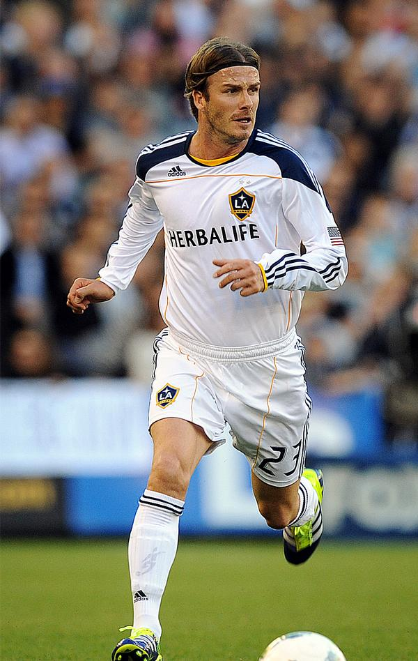 Beckham signed for MLS franchise LA Galaxy a decade ago