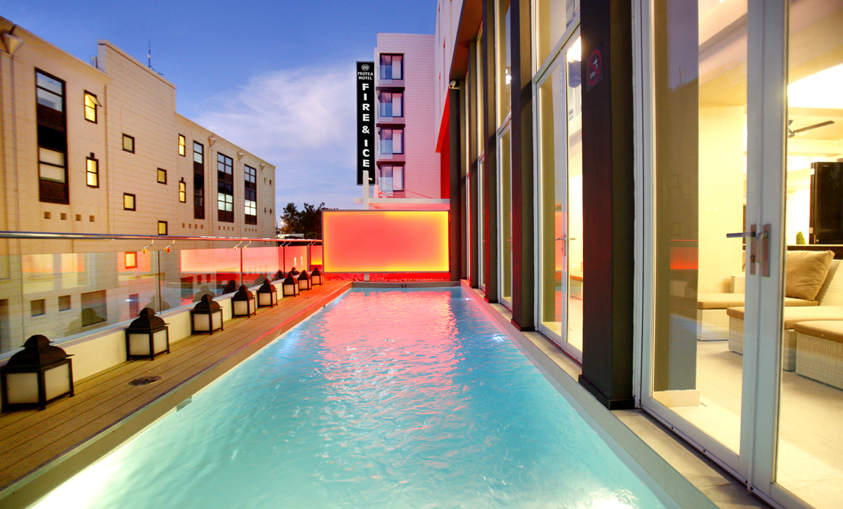 The Protea portfolio includes prominent hotel and spa locations including the Protea Fire & Ice! in Cape Town